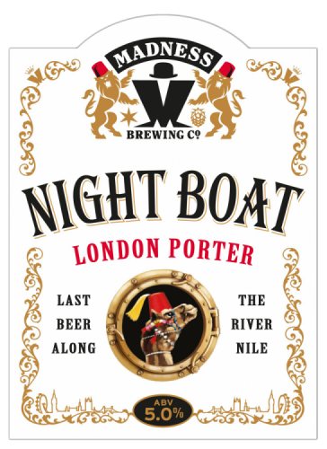 Madness Night Boat Porter 5% 9g