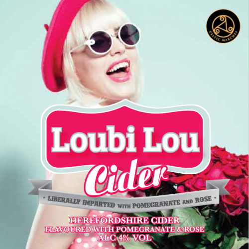 Celtic Marches Loubi Lou Medium Cider 4% 20L BIB