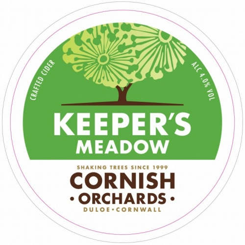 Cornish Orchard Keeper's Meadow Cider 4% 30L Keg