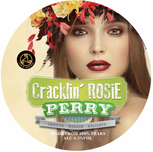 Celtic Marches Cracklin' Rosie Perry 4.5% 30L (E-Keg)