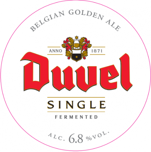 Duvel Single Fermented 6.8% 20L Keg