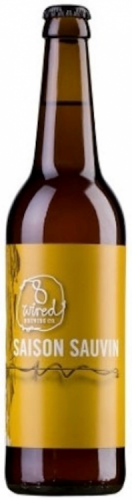 8 Wired Saison Sauvin 7% 24 x 330ml Bottles