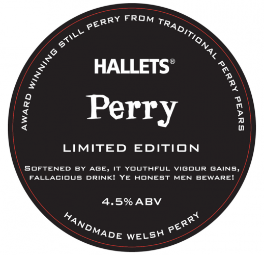 Hallets Perry Medium Sweet 4.5% 20L BIB