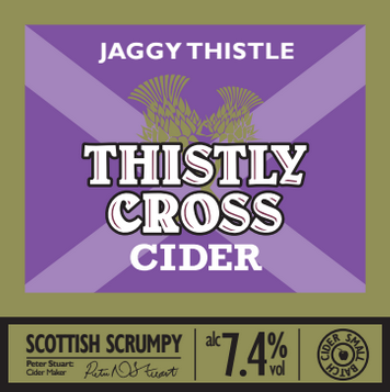 Thistly Cross Jaggy Thistle Cider 7.5% 20L Bag In Box