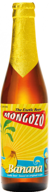 Mongozo Banana Beer 3.6% 24 x 330ml Bottles