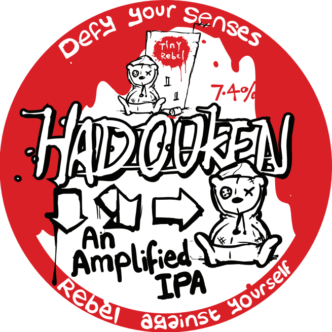 Tiny Rebel Hadouken 7.4% 30L (E-Keg)