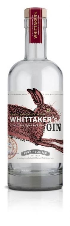 Whittaker's Pink Gin 42% 1 x 70cl Bottle