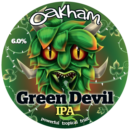 Oakham Green Devil 6% 30L (E-Keg)