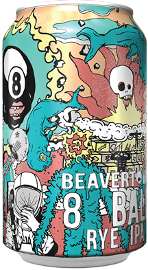 Beavertown 8 Ball Rye IPA 6.2% 24 x 330ml CANS