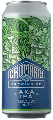 Cromarty AKA IPA 6.7% 12 x 440ml Cans