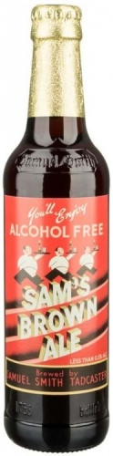Samuel Smith Alcohol Free Brown Ale 0.5% 24 x 355ml Bottles