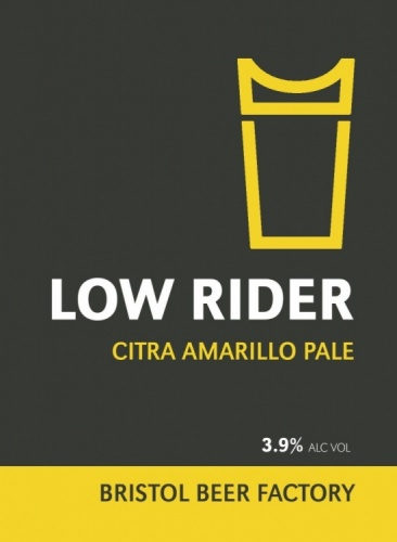 Bristol Beer Factory Low Rider 3.9% 9g