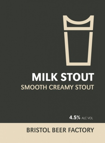 Bristol Beer Factory Milk Stout 4.5% 9g