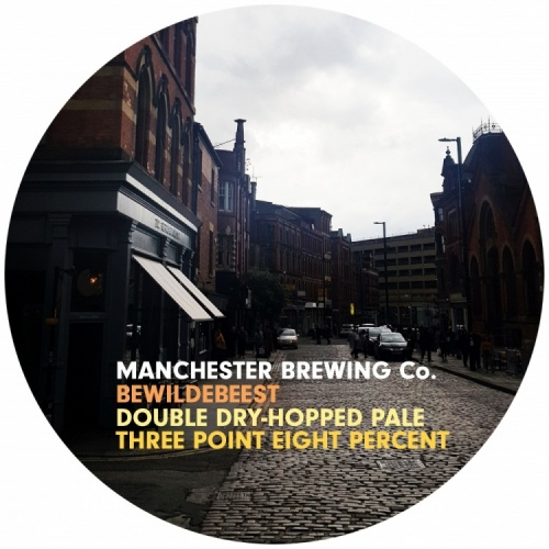 Manchester Brewing Co Bewilderbeest 3.8% 9g (E-Cask)