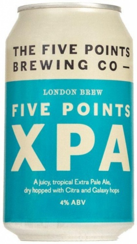 Five Points XPA 4% 24 x 330ml Cans