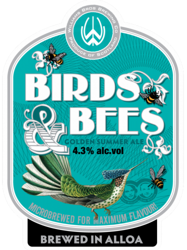 Williams Brothers Birds & Bees 4.3% 9g