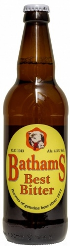 Bathams Best Bitter 4.3% 1 x 500ml Bottles