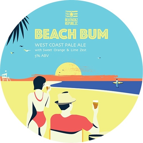 Beatnikz Republic Beach Bum 5% 30L (Keg-Star)