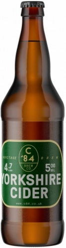 Great Yorkshire Cider 4.8% 8 x 500ml Bottles