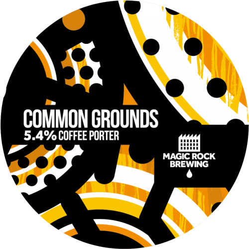 Magic Rock Common Grounds 5.4% 30L (Keg-Star)