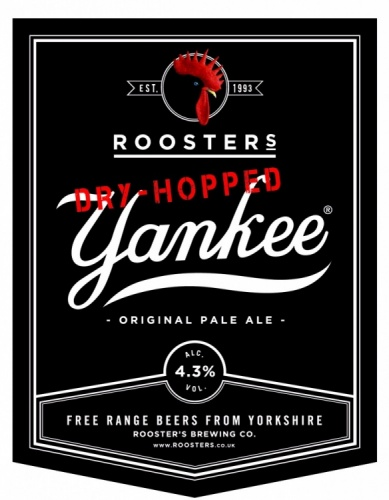 Roosters Dry Hopped Yankee 4.3% 9g (E-Cask)