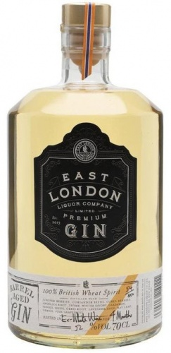 East London Liquor Co Barrel Aged Gin 52% 1 x 70cl Bottle