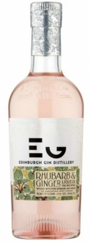 Edinburgh Rhubarb & Ginger Gin Liqueur 20% 1 x 50cl Bottle