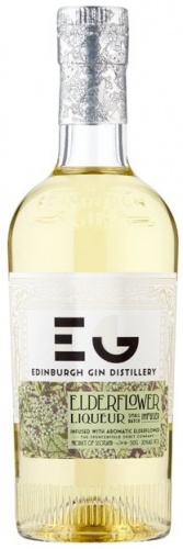 Edinburgh Elderflower Gin Liqueur 20% 1 x 50cl Bottle