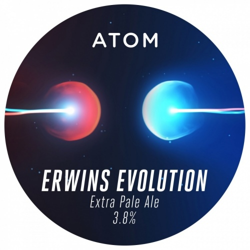 Atom Erwins Evolution 3.8% 30L (E-Keg)