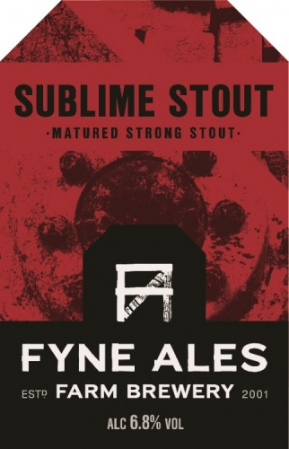 Fyne Ales Sublime Stout 6.8% 9g