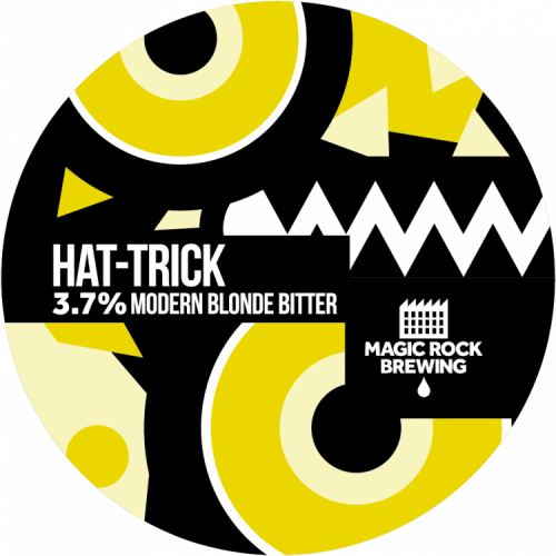 Magic Rock Hat-Trick 3.7% 9g