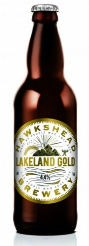 Hawkshead Lakeland Gold 4.4% 12 x 500ml Bottles