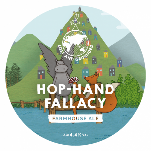 Lost & Grounded Hop-Hand Fallacy 4.4% 30L (E-Keg)