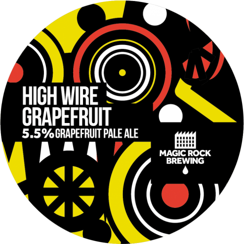 Magic Rock High Wire Grapefruit 5.5% 30L (Keg-Star)