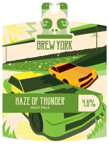 Brew York Haze of Thunder 5.2% 9g