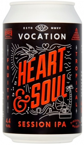 Vocation Heart & Soul 4.4% 12 x 330ml Cans