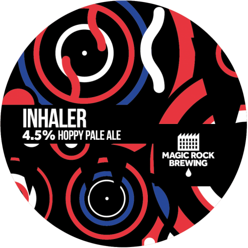 Magic Rock Inhaler IPA 4.5% 30L (Keg-Star)