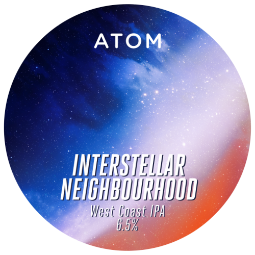 Atom Interstellar Neighbourhood 6.5% 30L (E-Keg)