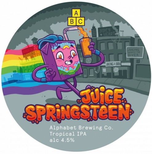Alphabet Brewing Juice Springsteen 4.5% 30L (Keg-Star)