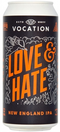 Vocation Love & Hate 7.2% 12 x 440ml Cans