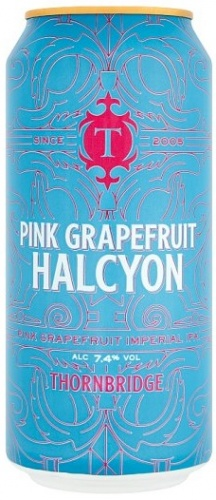Thornbridge Pink Grapefruit Halcyon 7.4% 12 x 440ml Cans