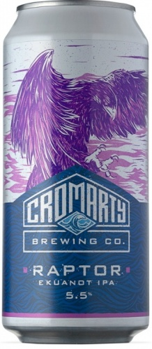 Cromarty Raptor IPA 5.5% 12 x 440ml Cans