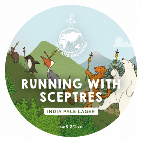 Lost & Grounded Running With Sceptres 5.2% 30L (E-Keg)