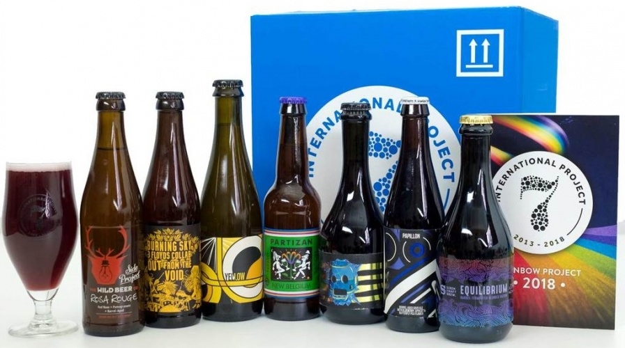 International Rainbow Project '2018' Mixed Case (Inc 7 Bottles)