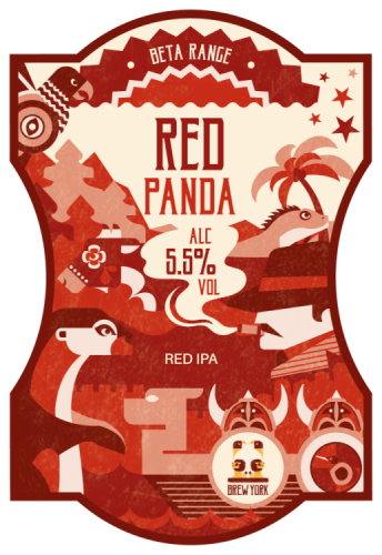Brew York Red Panda 5.5% 9g