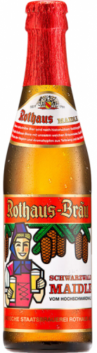 Rothaus Maidle Naturtrub (Naturally cloudy) 5.1% 1 x 330ml Bottles