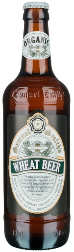 Samuel Smith Organic Wheat Beer 5% 12 x 550ml Bottles