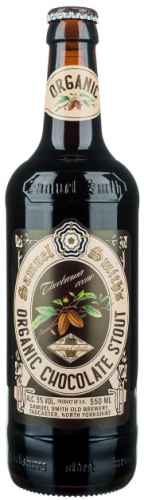 Samuel Smith Organic Chocolate Stout 5% 24 x 355ml Bottles