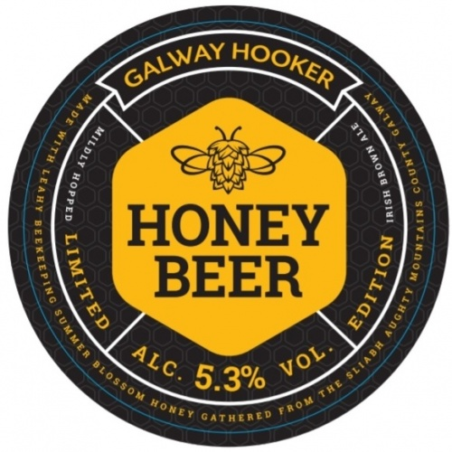 Galway Hooker Honey Beer 5.3% 30L Key Keg