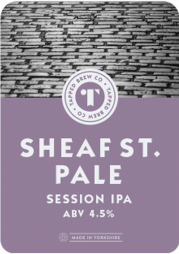 Tapped Brew Co Sheaf Street Pale 4.5% 9g